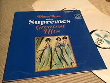 "DIANA ROSS & SUPREMES - GREATEST HITS SPANISH 12"" LP SPAIN PROMO - MOTOWN SOUL"