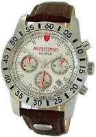 Riedenschild Quarz Steel Chronograph Herrenuhr Rallye Lederband Limited Edition