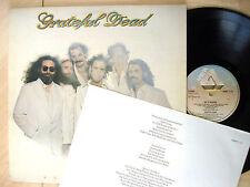 Grateful Dead Go To Heaven + Insert UK LP Arista SPART 1115 1980 EX/EX