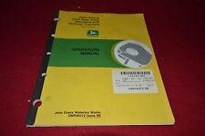 John Deere 3020 Tractor Operator's Manual BWPA