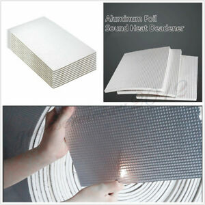 10 x 6mm Thickness Car Firewall Door Sound Heat Deadener Noise Insulation Wrap