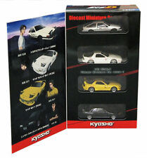 Kyosho 1/64 Initial D New Movie 4Car Set