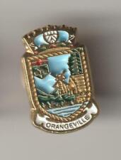 Orangeville Ontario Metal Pin Pinback - Very Good