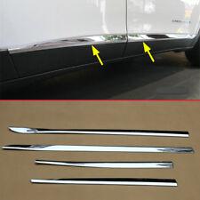 Chrome Door Body Strips For Jeep Cherokee KL 2014-2019 Molding Accessories