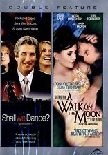 NEW DOUBLE FEATURE DVD // SHALL WE DANCE? + A WALK ON THE  MOON // RICHARD GERE