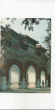 BF18876 temple of the sleeping buddha at hsiangshan  china  front/back image