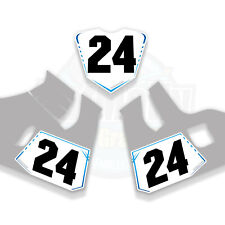 RACE NUMBER BOARDS TO FIT SUZUKI GSX-R 1000R 2018> WRAP GRAPHICS  STICKERS