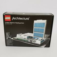 LEGO 21018 Architecture United Nations Headquarters Box Not Sealed