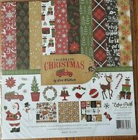 Echo Park Celebrate Christmas 12x12 Paper Kit Cardstock Dbl Sided Paper