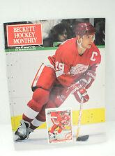 Vintage Beckett Hockey Magazine January 1991