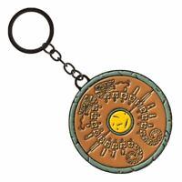 The Legend of Zelda Breath Of The Wild Logo Keyring - Metal Keychain Nintendo