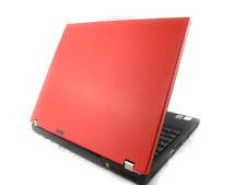"RED WINDOWS 7 Lenovo Thinkpad 14"" Laptop - Core Duo 2GB RAM WiFi DVD Warranty"