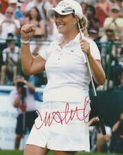 CRISTIE KERR SIGNED LPGA GOLF 8x10 PHOTO #5 Autograph PROOF