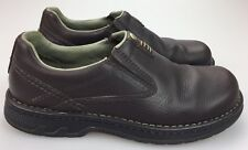 MERRELL 'World Legend Stollen' Brown Leather Dual Gore Loafers Shoes Sz. 8.5