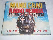 MANU CHAO RARE CD DIGIPACK RADIO BEMBA SOUND SYSTEM 29 TITRES 2007 LIVE CONCERT
