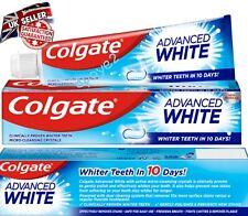 Colgate Advanced White Whitening Toothpaste Jumbo 125ml Size  x3, x6, x12