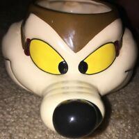 Wiley E Coyoto Vintage Ceramic Mug Looney Toons