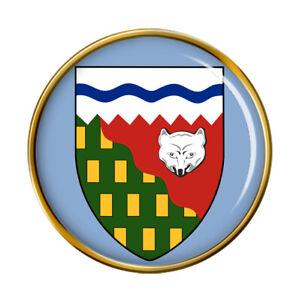 Territorios Noroeste (Canadá) Pin Insignia