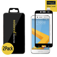 """2Pack Tempered Glass Screen Protector FULL COVER For HTC Bolt /HTC EVO 10 (5.5"""")"""