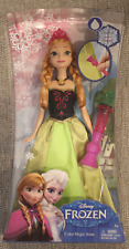 Disney Frozen Mattel Color Magic Anna Figure Brand New In Box Qty Available