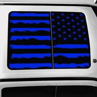 Vinyl Roof Decal for Ford F150 F250 F350 Raptor 2015-2021 Distressed Flag Blue