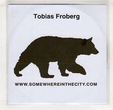 (GV111) Tobias Froberg, Somewhere in the City - 2006 DJ CD