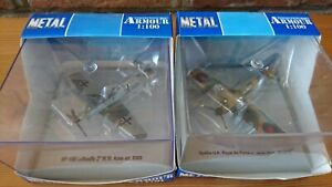 Collection Armour - RAF Spitfire & Luftwaffe Me109E - BofB Pair - 1/100