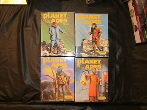4 Planet of the Apes Aurora Model Kits