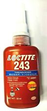 LOCTITE HENKEL 243 MEDIUM STRENGTH 50ML - BEST EVER THREADLOCKER