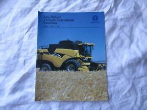 New Holland combine brochure CX840 CX860 CX880 brochure
