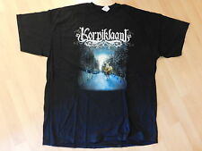KORPIKLAANI-Valle Along This Road T-SHIRT XXL NUOVO