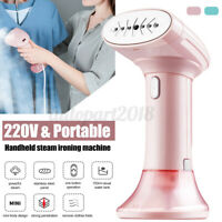 220V 800W Handheld Handy Garment Steamer Steam Iron Portable Clothes Home