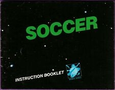 Soccer (Nintendo Entertainment System) Instruction Booklet ONLY