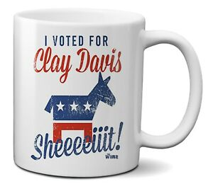 Official The Wire - I voted for Clay Davis Coffee Tea Ceramic 330ml 11oz Mug Cup