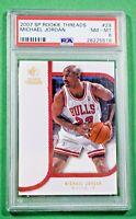 2007 SP Rookie Threads Michael Jordan #29 PSA 8 🏦 Bulls HOF