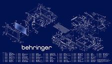 Comprehensive Behringer service, user manuals and schematics
