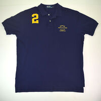 .vtg Polo Ralph Lauren RLPC est.1967 Mallett Crest Shirt Sz XL Slim Embroidered