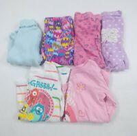 Toddler Girls Long Sleeve Shirts Leggings, Pants Cotton Size 2T Lot Of 6