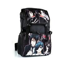 Anime Black Butler Style Backpack Shoulder Bag School Bag Cosplay Prop Gift Kids