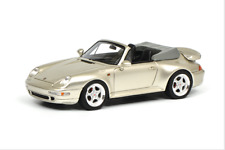 Schuco Porsche 911 (993) Turbo Cabriolet, leinengrau  1:43 ProR43