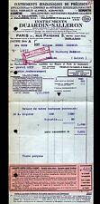 """PARIS (III°) MATERIEL OENOLOGIQUE pour CAVISTE """"DUJARDIN & SALLERON"""" en 1953"""