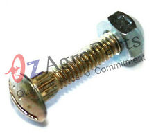 25 mm Splined bolt with nut to fit knife sections, Pack of 100