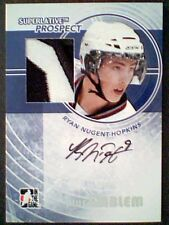 RYAN NUGENT-HOPKINS  09/10 AUTHENTIC GAME-USED & PRE-ROOKIE AUTOGRAPH / 9 **SP**