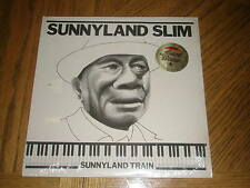 SUNNYLAND SLIM / SUNNYLAND TRAIN ~ 1983 Red Beans Album ~ NEW MINT - SEALED