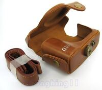 New Leather Camera Case Bag for Canon PowerShot G15 Digital Camera