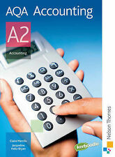 AQA Accounting A2: Student's Book by Jacqueline Halls-Bryan, Claire Merrills (P…