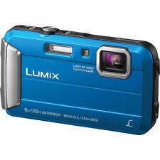 Panasonic Lumix DMC-TS30 Waterproof Digital Camera Blue