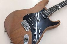 Used! SCHECTER All Walnut Stratocaster Electric Guitar
