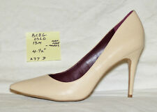 ac937740dd2e size 13 medium BCBG OSLO nude pump with 4-1 2