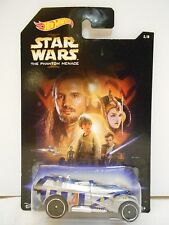 Star Wars THE PHANTOM MENACE #1/8 Hot Wheels 2014 NEW Darth Maul, Disney, Yoda